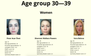 Some of the beauty contest winners judged by an AI